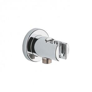 """Codo salida 1/2"""" para flexo ducha con soporte RELEXA Grohe cromo 28628 000"""