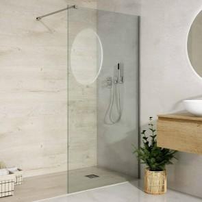 Mampara de ducha hoja fija AIKI de GlassInox