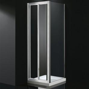 Mampara de ducha AKORD. Frontal más fijo lateral
