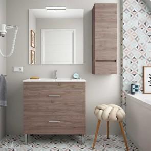 Mueble de baño ALMAGRO Salgar 80 cm con LAVABO