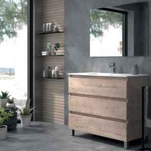 Mueble de baño OROSI Duplach 3 cajones con LAVABO. De 60 cm | 80 cm | 100 cm | 120 cm