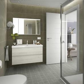 Mueble de baño FUSSION LINE Salgar suspendido 100 cm con LAVAB