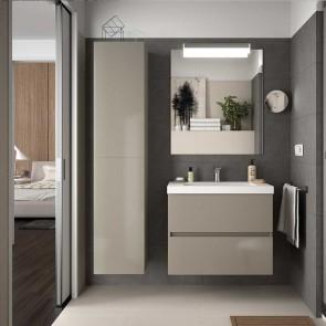 Mueble de baño FUSSION LINE Salgar suspendido 70 cm con LAVABO