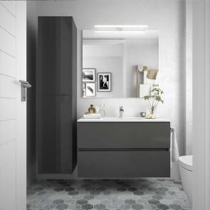 Mueble de baño FUSSION LINE Salgar suspendido 90 cm con LAVABO