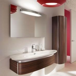 Ambiente mueble de baño PRESQUILE de 1 cajón chapado palisandro de Jacob Delafon