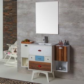 Mueble de baño VINTAGE 15 Verrochio 60 cm con LAVABO