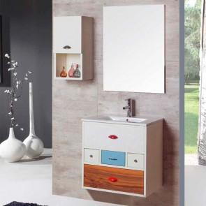 Mueble de baño VINTAGE 16 Verrochio 60 cm SUSPENDIDO con LAVABO