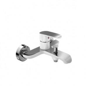 Grifo de baño ducha monomando DANN Kassandra Blanco Cromo DN103