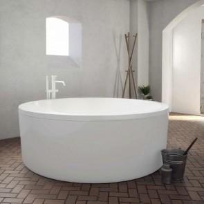 Bañera acrílica BOAT redonda exenta 150x69 cm Baños 10 ambiente 1