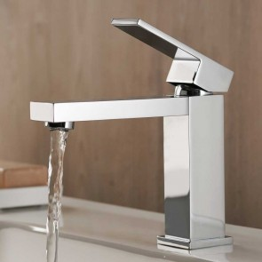 Grifo de lavabo monomando AZIMUT cromo Buades