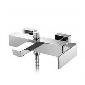 Grifo de monomando de baño ducha AZIMUT cromo de Buades BD.2432013.CH