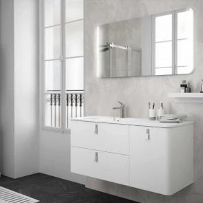 Mueble de baño UNIIQ BLANCO Mate Salgar 120 cm