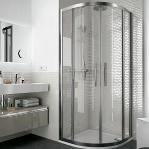 Mampara de ducha semicircular CLEAR