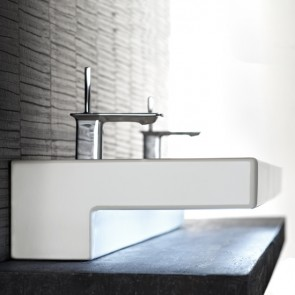 Detalle lavabo terrace con Led