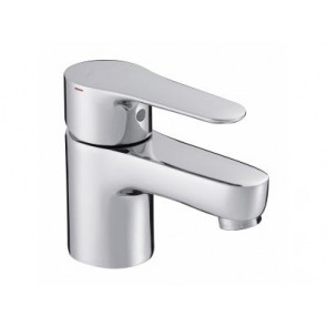 Grifo de lavabo monomando con sujeción cadenilla JULY cromo JCD-E160274DCCP