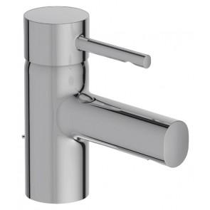 Grifo de lavabo monomando CUFF modelo BAJO Jacob Delafon con vaciador automático cromo E37301CP