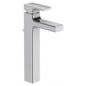 Grifo de lavabo monomando STRAYT Jacob Delafon ALTO con VACIADOR AUTOMATICO cromo E37329CP