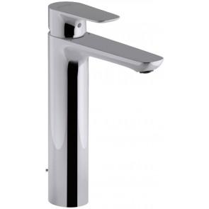 Grifo de lavabo monomando ALEO Jacob Delafon ALTO con VACIADOR AUTOMATICO cromo E72298CP
