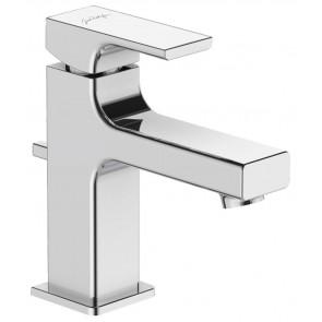 Grifo de lavabo monomando STRAYT ESTANDAR Jacob Delafon con VACIADOR AUTOMATICO cromo E8776CP