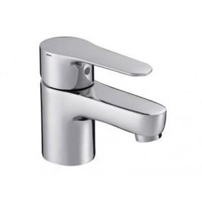 Grifo de lavabo monomando con desagüe automático versión ahorro JULY cromo JCD-E98258CP