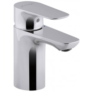 Grifo de lavabo monomando ALEO Jacob Delafon con VACIADOR AUTOMATICO y CARTUCHO AHORRO cromo E98332CP