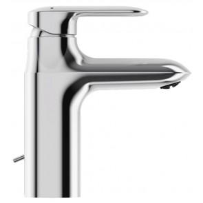 Grifo de lavabo monomando con desagüe automático versión ahorro KUMIN modelo MEDIO cromo E99444CP