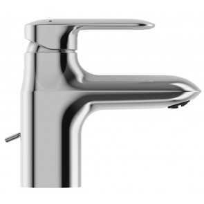 Grifo de lavabo monomando con desagüe automático versión ahorro KUMIN cromo E99981CP