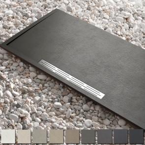Plato de ducha resina ELITE de Kretta carga mineral hasta 180 cm