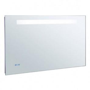 Espejo baño 700x650 iluminación led, reloj digital y antivaho JCD-EB1159-NF