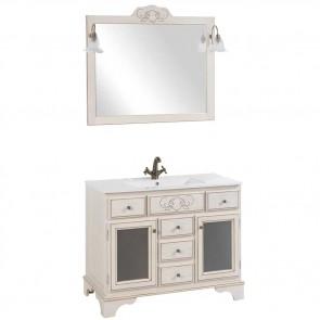 Mueble de baño rústico GRANADA 100 cm con LAVABO