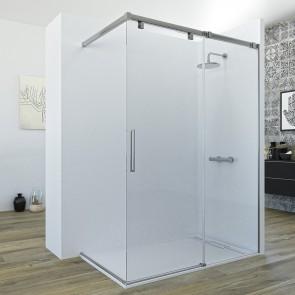 Mampara HURI de Seviban fija mas corredera de ducha sin cierre hasta 160 cm
