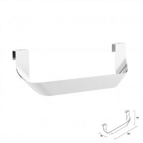 Toallero doble JAZZ Salgar anodizado brillo para mueble 23025