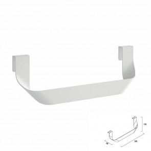 Toallero doble JAZZ Salgar Blanco Brillante para mueble 23028