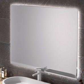 Espejo de baño RECTANGULAR LANZAROTE con luz led perimetral