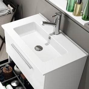 Lavabo porcelana SERIE 35 Salgar 610x20x360 mm extraplano blanco 21684