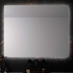 Espejo de baño RECTANGULAR MADEIRA con luz led perimetral