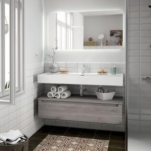 Mueble de baño MONTERREY Salgar 1 cajón suspendido con LAVABO varias anchuras
