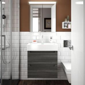 Mueble de baño MONTERREY Salgar 2 CAJONES suspendido 60 cm