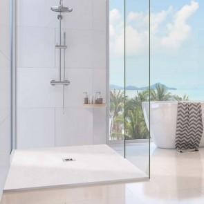 Plato de ducha resina NATURE de carga mineral y gel coat de Oh My Shower