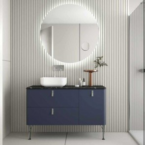 Mueble de baño UNIIQ NIGHT BLUE Mate Salgar 120 cm
