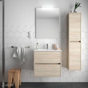 Mueble de baño NOJA Salgar 70 cm Roble Caledonia con LAVABO