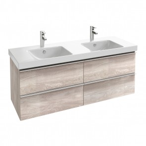 Mueble de baño ODEON UP de 140 cm 4 cajones de Jacob Delafon