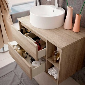 Mueble de baño PARIS para LAVABO Sobre Encimera. De 80 cm | 100 cm | 120 cm