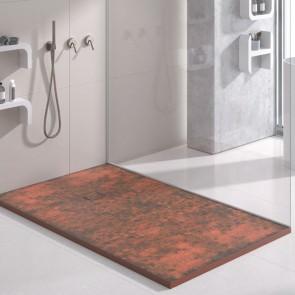 Plato de ducha resina ÓXIDO de DUPLACH de carga mineral y gel coat
