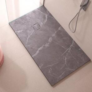 Plato de ducha resina MÁRMOL MARQUINA de DUPLACH de carga mineral y gel coat