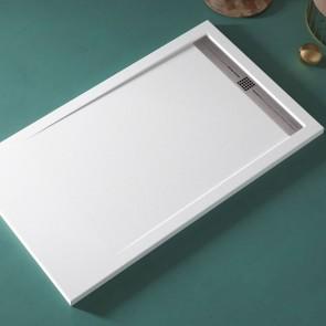 Plato de ducha resina CACH de DUPLACH de carga mineral y gel coat en cuartodebaño.com