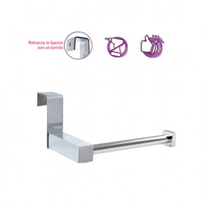Portarrollos lateral para mueble de baño SIN TALADRO OXEN