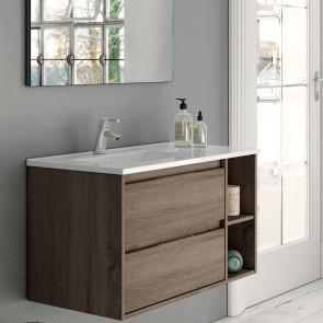 Mueble de baño PRAGA  Britania para LAVABO Encimera. De 80 cm | 100 cm | 120 cm