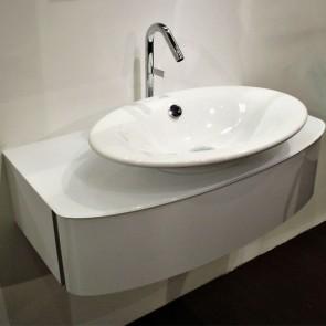 Mueble de baño con lavabo sobre encimera PRESQUILE de Jacob Delafon