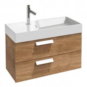 Mueble de baño 2 cajones RYTHMIK 80x36 cm acabado Roble Arlington de Jacob Delafon